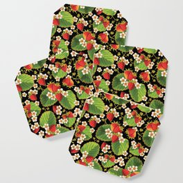 Strawberries Botanical Coaster