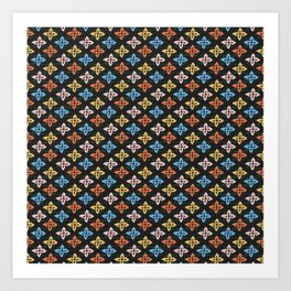 Las Flores 01 (Patterns Please) Art Print