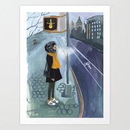 NYC Winter Art Print