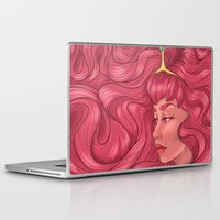 princess bubblegum Laptop & iPad Skins featuring Princess Bubblegum by Persefone