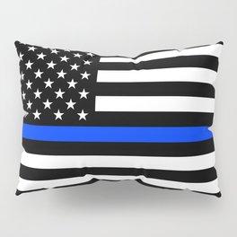 Thin Blue Line Pillow Sham