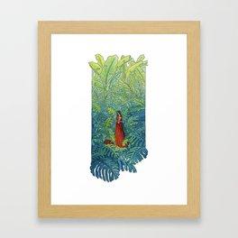 Book of Secrets Framed Art Print