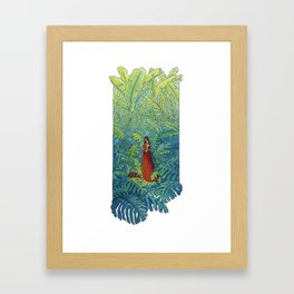 Book of Secrets Framed Art Print