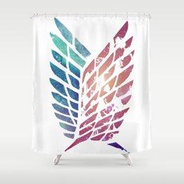 ANIME GALAXY Shower Curtain