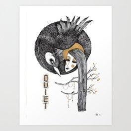 BIRD WOMEN 4 Art Print