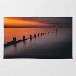 Seascape Sunset Rug