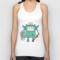 bmo Tank Tops featuring BMO MECH by suprsunshine