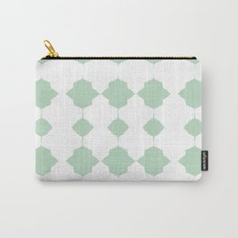 Minty_Geo_Love_ Carry-All Pouch