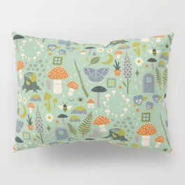Fairy Garden Pillow Sham