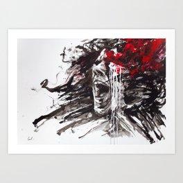 The Pain of Cluster Headache Art Print