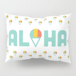 Aloha Shave Ice Pillow Sham