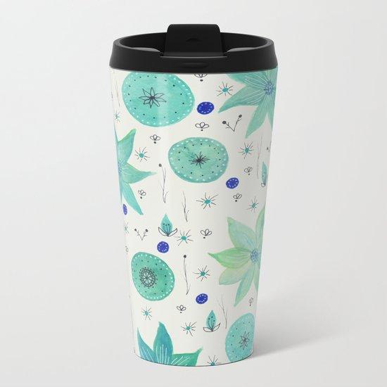 Spring vibes VI Metal Travel Mug