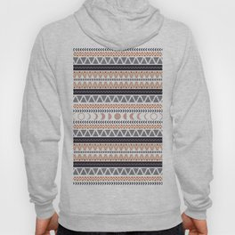 Boho Tribal Pattern Hoody
