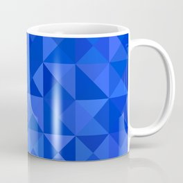 Blue pyramids Coffee Mug