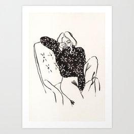 Hope I see you soon Art Print