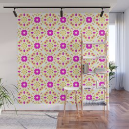 Bold Bloom | No. 4 | Floral Repeat Pattern Wall Mural