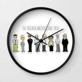 Pritzker 2 Wall Clock