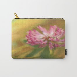 Clover Flower in Romantic Mood  Carry-All Pouch