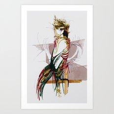 EXOTIC PARROT Art Print