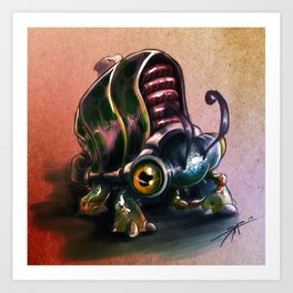 Bugging out.... Art Print