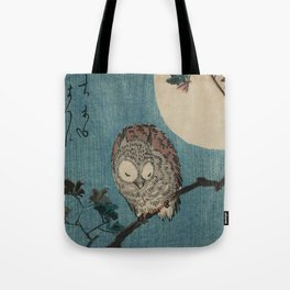 Vintage Japanese Owl Tote Bag