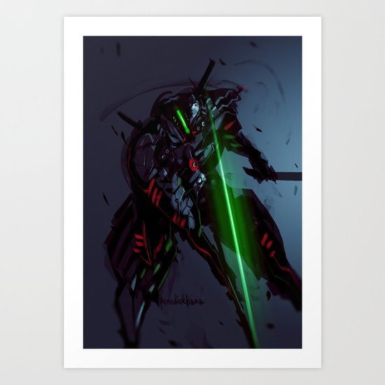 Darkfall Durandal Art Print