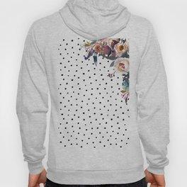 Boho Flowers and Polka Dots Hoody