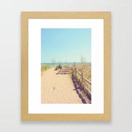 AFE Gibraltar Point Beach Framed Art Print