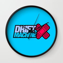 Drift Machine v4 HQvector Wall Clock