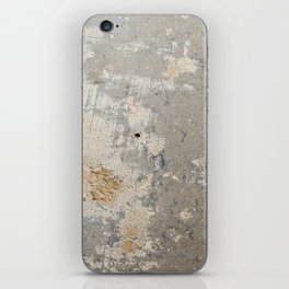 Wall surface texture iPhone Skin