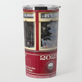 New Orleans 2023 Canal Streetcar Travel Mug