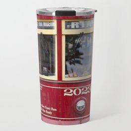 New Orleans 2023 Canal Streetcar Travel Mug