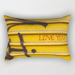 Love You, New York Rectangular Pillow