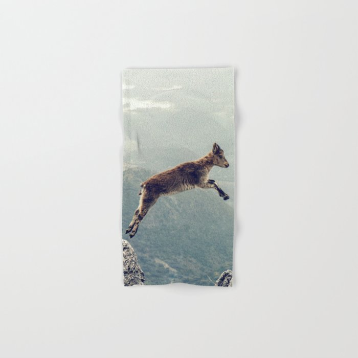Mountain Goat Hand & Bath Towel