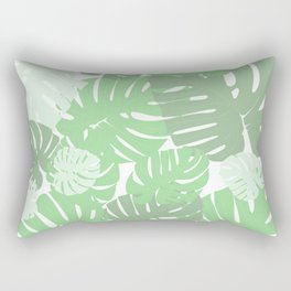 MONSTERA DELICIOSA SWISS CHEESE PLANT Rectangular Pillow