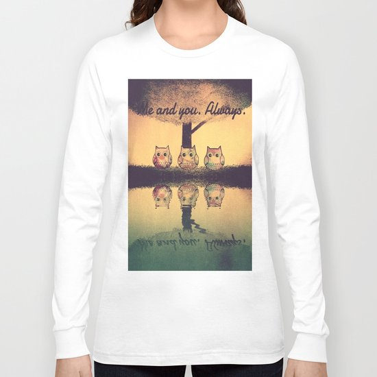owl-204 Long Sleeve T-shirt