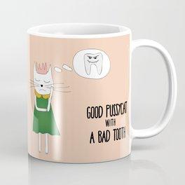 Good pussycat with a bad tooth Coffee Mug
