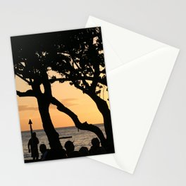 Luau Stationery Cards