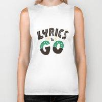 lyrics Biker Tanks featuring Lyrics to Go by Vaughn Fender