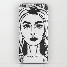 Woman Pop-art iPhone Skin