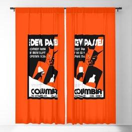 The Devil Passes Blackout Curtain