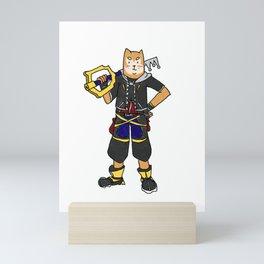 Kingdom Hearts 3 Sora Dog Mini Art Print