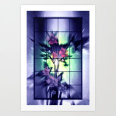 Windows to the nature. Art Print