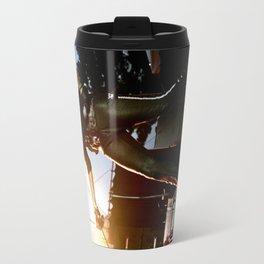 Alice Cooper Fence Stance Travel Mug