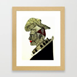 A King in his Own Mind!  Framed Art Print