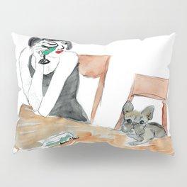 Green Muse, art by BoubouleArt Pillow Sham