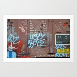 Ugly Boyz Art Print