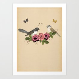 Song Bird 5 Art Print