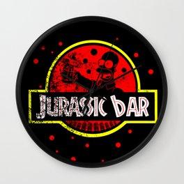 Jurassic Bar Wall Clock