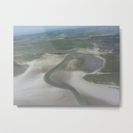 Texel from Above One Metal Print